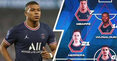 OFFICIAL: PSG starting XI vs Brest unveiled