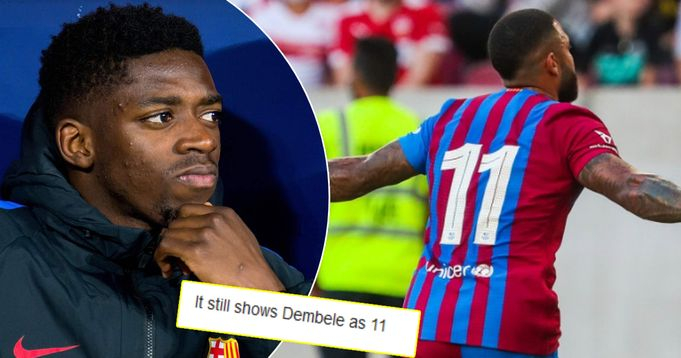 Why was Depay wearing Dembele's squad number in Stuttgart game? You asked, we answered