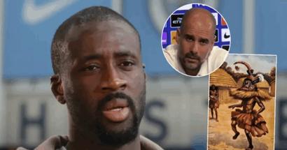 """Yaya Toures Berater: """"Ich bin sicher, afrikanische Schamanen werden Guardiola nicht die Champions League gewinnen lassen, weil er Yaya unfair behandelte"""""""