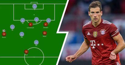 Ohne Ball, aber trotzdem wichtig: Diese Rolle hat Goretzka bei Müllers Führungstor vs. Fürth gespielt