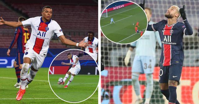 Deux buts du PSG dans le top 10 des meilleurs buts de Ligue des champions cette saison
