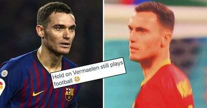 'Is he still alive?': 35-year-old Vermaelen makes surprising Euro 2020 appearance
