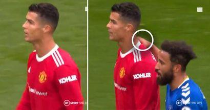 Jugador del Everton confiesa lo que Cristiano le dijo tras pedirle la camiseta