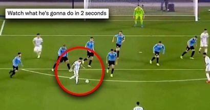'Míralo': Se vuelve viral un increíble episodio con Lionel Messi durante el partido de Argentina