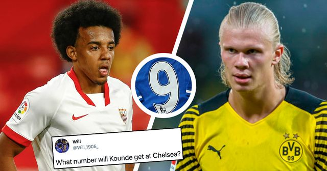 What jersey numbers would Haaland and Kounde get if signed for Chelsea? You asked, we answered