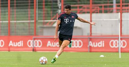 Top-Einstellung! Lewandowski arbeitet am trainingsfreien Tag, um für das Pokalspiel topfit zu sein
