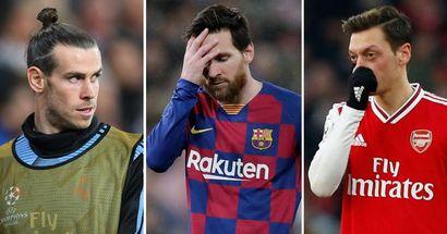 Bale, Özil & 5 más: La ridícula lista de futbolistas que ahora ganan más que Messi
