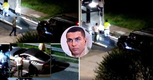 Juve-Abschied fix? Cristiano Ronaldo räumt seine 7 Sportwagen aus seiner Garage in Turin