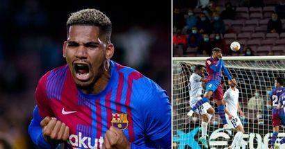 Araujo - 9, Busquets 4: Valoración de los jugadores del Barça en el empate ante el Granada