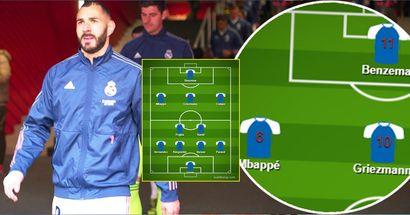 ¿El mejor equipo de Europa? Así jugará Francia en la Euro 2020 con Karim Benzema