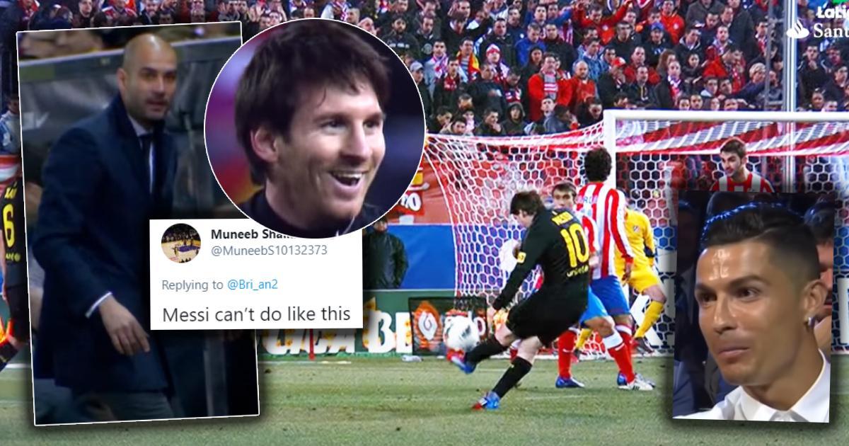 """""""Messi ne peut pas faire comme ça"""": un fan de Madrid pense avoir trouvé un coup franc unique de Ronaldo, mais perd immédiatement le """"débat"""""""