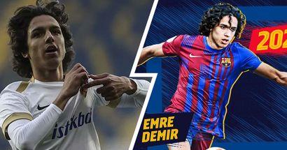 OFFICIEL : Barcelone annonce la signature du jeune Emre Demir
