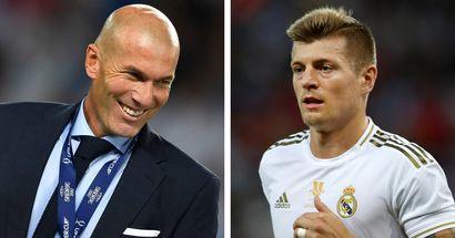 Zidane elogia a Kroos: 'Siempre presumiré de haberle entrenado, admiro su mente'