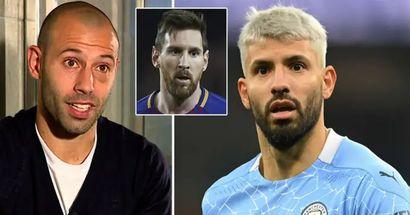 'Es sabio': Mascherano menciona una de las principales razones por las que el Barça quiere a Agüero