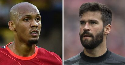 'I don't think we'll play': Fabinho rules himself and Alisson out of Watford game