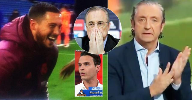'Non può stare qui'. Gli spagnoli reagiscono alle immagini di Eden Hazard che ride con i giocatori del Chelsea