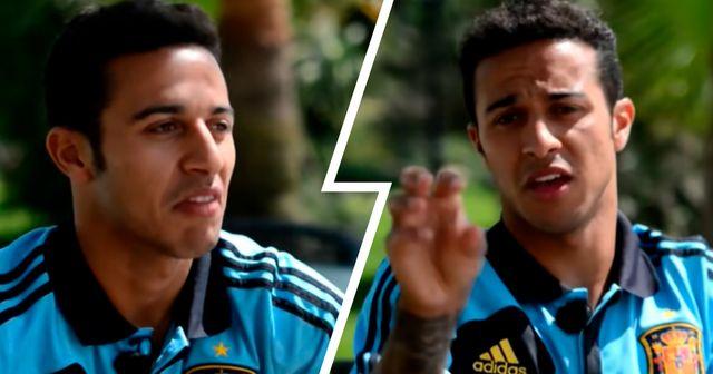 """""""10 Prozent Talent und 90 Prozent Mühe"""": Wie Thiago 2013 seine Fußballformel erklärte"""