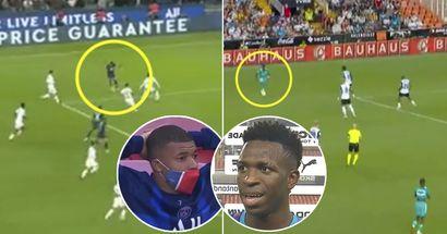 """""""Fou"""": un fan du Real Madrid remarque une chose spectaculaire à propos des matchs du dimanche de Mbappé et Vinicius"""