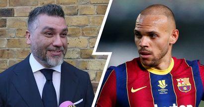 """""""Toutes ces histoires sont fausses, Martin continuera à Barcelone"""": l'agent de Braithwaite"""