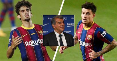 حدد برشلونة 11 لاعب لبيعهم من أجل توفير 200 مليون يورو في الأجور (الموثوقية: 4 نجوم)