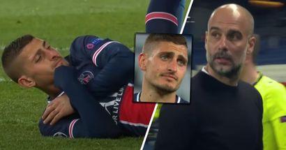 'Halt die Klappe!': Mikrofone nehmen Gespräch zwischen Guardiola und Verratti auf
