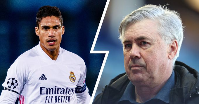 Times: Madrid no longer willing to sell Varane, Ancelotti wants Frenchman to sign new deal (reliability: 5 stars)