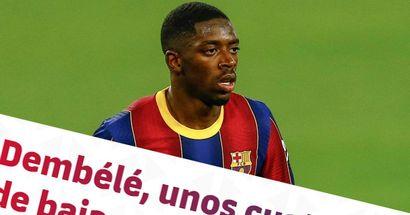 برشلونة يؤكد إجراء جراحة لديمبيلي و يتوقع الوقت اللازم لتعافي اللاعب
