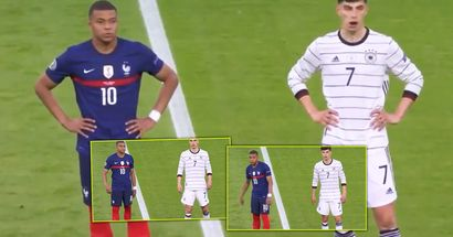 Kai Havertz caught on camera copying literally everything Kylian Mbappe does
