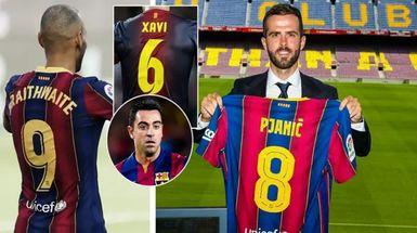 4 dorsales que probablemente están vacantes en el Barça este verano