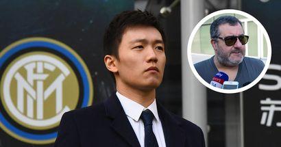 """""""Il calcio va rifondato. L'Inter non so se è cinese o americana"""", Raiola senza peli sulla lingua"""