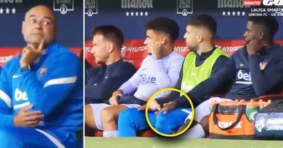 Ungesehenes Filmmaterial von der Bank des FC Barcelona enthüllt geheime Gespräche zwischen Spielern