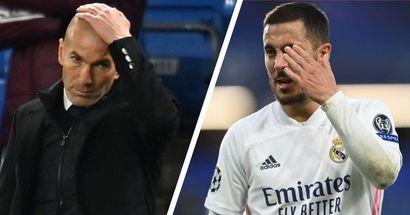 Vinicius de lateral, Hazard titular y más: clasificación de las decisiones de Zidane en la derrota ante el Chelsea