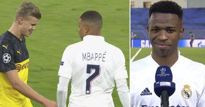 El salario de Vinicius es el cuarto más bajo en el Real Madrid, el jugador quiere quedarse incluso si vienen Mbappé y Haaland (fiabilidad: 4 estrellas)
