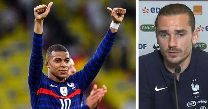 """""""Il faut être patient, ça va rentrer"""" : Griezmann se montre confiant à ce que Mbappé marque des buts à l'Euro"""