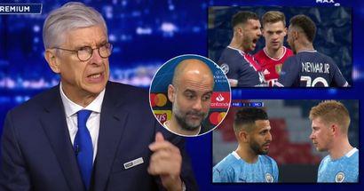 Arsene Wenger nennt ein Schlüssel-Unterschied zwischen Man City und Bayern