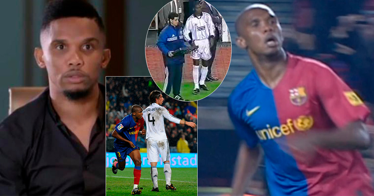 'If it hadn't been for Real Madrid I would never have got this far': How Eto'o was forced to apologize publicly for a chant
