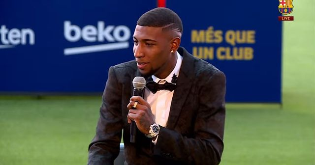 Emerson Royal makes special promise as he is presented at Camp Nou