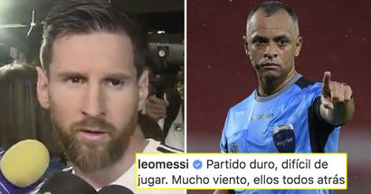 'Seems like he does it on purpose': Messi slams Argentina-Peru referee right in Instagram post