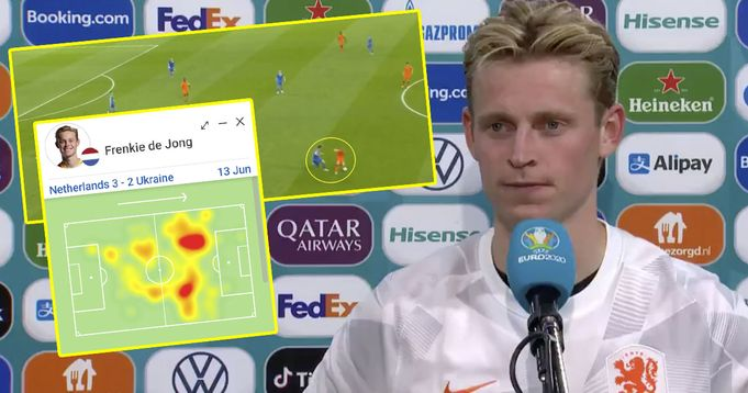 De Jong's splendid Iniesta-like move almost turns into pre-assist: illustrated in 10 pics
