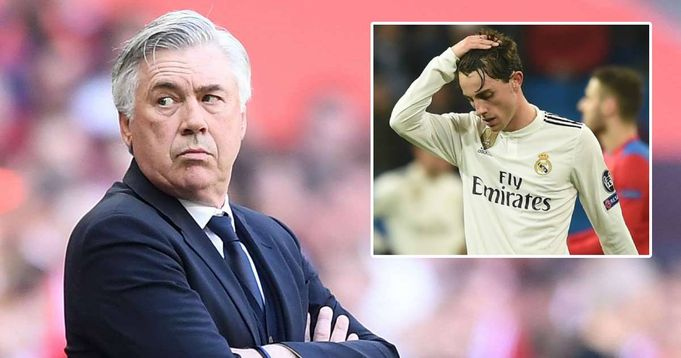 Odriozola not in Ancelotti's plans, likely to leave Real Madrid this summer (reliability: 5 stars)