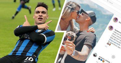 """Lautaro e il gol più bello di tutta la sua vita: """"Grazie per avermi reso l'uomo più felice del mondo"""""""