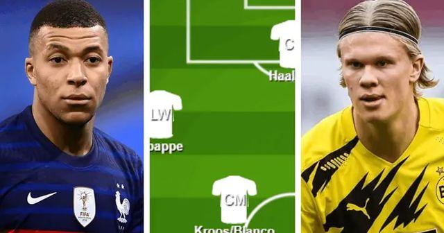 ¿Con Mbappé y Haaland? Cómo se verá el Xl del Real Madrid  en 2-3 años con los mejores talentos y posibles fichajes