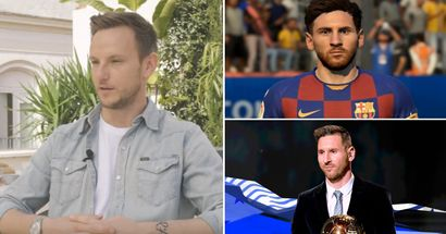 Ivan Rakitic opens up on playing with Messi who's 'like a video game'