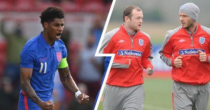 Rooney, Beckham & more: Rashford on elite list of Man United players after captaining England