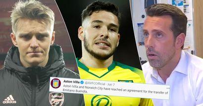 Unconvincing bid, Odegaard plans: Why Arsenal lost Buendia transfer race to Aston Villa
