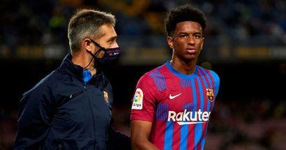 Le Barça confirme la blessure de Balde, la période d'arrêt prévu révélée