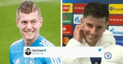 'Todavía duermo bien': Toni Kroos le responde a Mason Mount