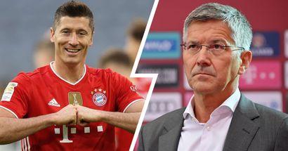 Lewandowski wird bis zum Ende seines Vertrags bei Bayern bleiben - Präsident Hainer mit großem Statement