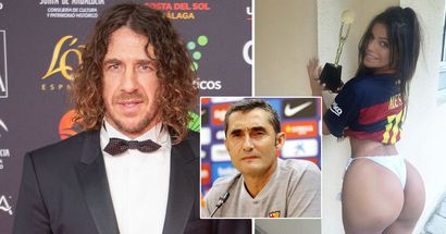 Miss BumBum once begged Carles Puyol to coach Barcelona