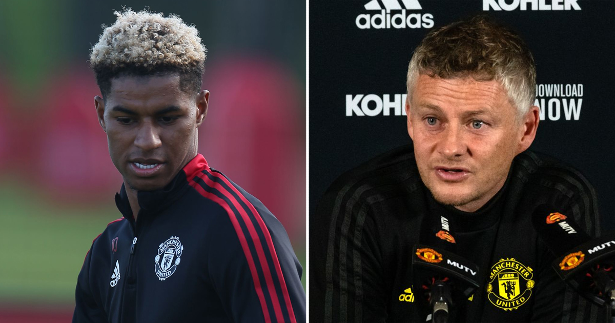Solskjaer advises Rashford to 'focus on football' as forward nears comeback
